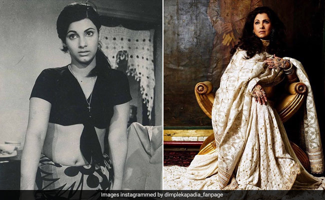 Girlistan - Dimple Kapadia's Iconic Style As Seen In Retro Bollywood Fashion Moments