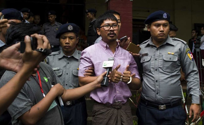 Myanmar Court Urged To Drop Case Against Reuters Journalists