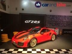 पॉर्श ने भारत में लॉन्च की अपनी सबसे तेज़ रफ्तार 911 GT2 RS, कीमत Rs. 3.88 करोड़