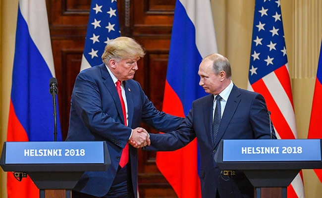 Donald Trump Invites Vladimir Putin To Washington For Second Meeting