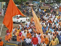 "BJP Must Take ""Credit"" For Violence: Shiv Sena On Maratha Protests"