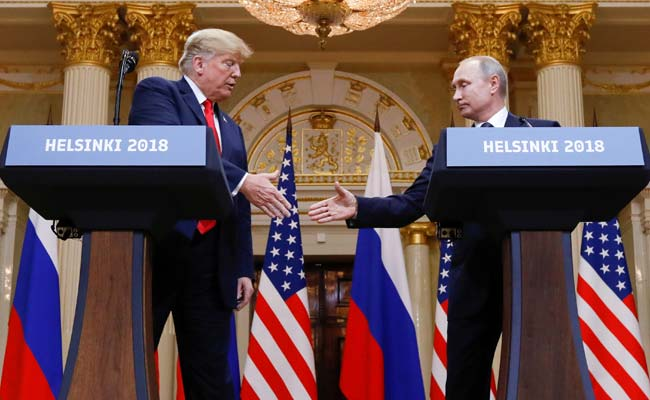 Donald Trump invites Vladimir Putin to United States  despite uproar after Helsinki meeting