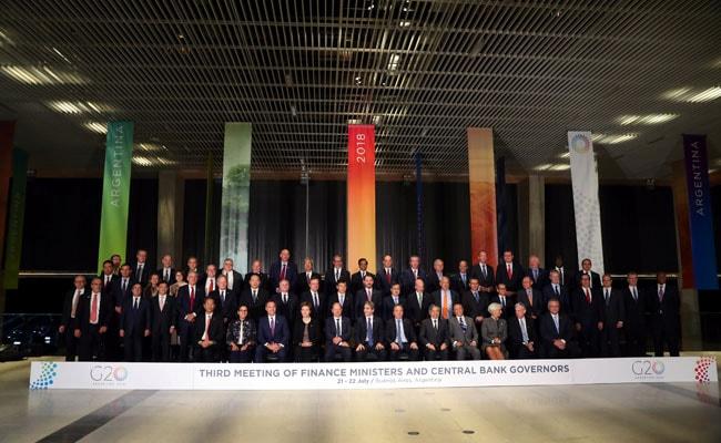 जी20 देशों का व्यापारिक तनाव दूर करने के लिए वार्ता का आह्वान