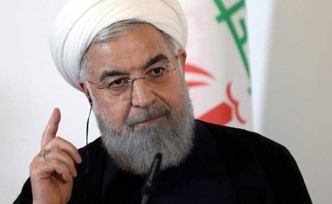 """Never Ever Threaten US Again,"" Trump Warns Iran's Rouhani On Twitter"