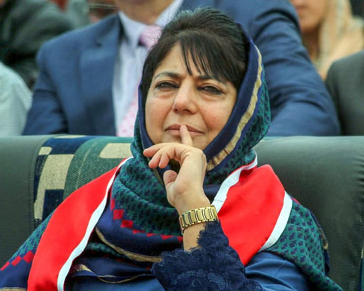 Appeal PM Modi To Accept Imran Khan's Offer Of 'Friendship': Mehbooba Mufti