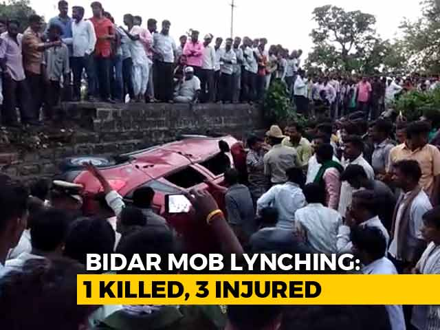 Video : Techie Beaten To Death By Mob In Karnataka After WhatsApp Rumours