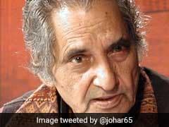 हिन्दी तथा उर्दू के मंचों पर सबके साथ ताजिंदगी मोहब्बत बांटते रहे नीरज : राहत इंदौरी