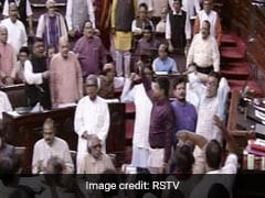 Protests Over Assam List Puts Rajya Sabha On Hold Again