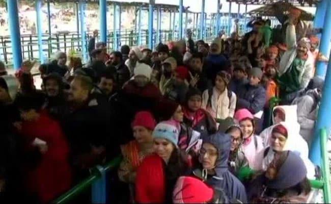 Around 6,000 Pilgrims Head For Amarnath From Jammu