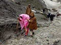 Amarnath Yatra Resumes In Jammu And Kashmir After Improvement In Weather