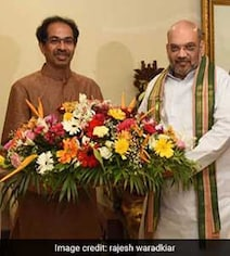 After Amit Shah's Solo Fight Advice To BJP Workers, Sena Stings Again