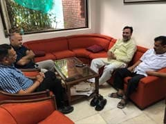 On Day 3 Of Arvind Kejriwal Sit-In Protest, Support From Mamata Banerjee