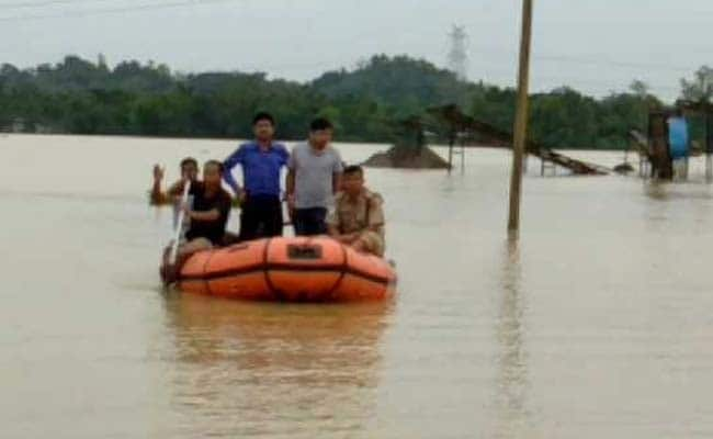 Assam Flood Situation Turns Critical, 3.87 Lakh Affected
