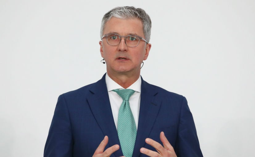 Audi boss Rupert Stadler arrested over suspected fraud in diesel emission scandal