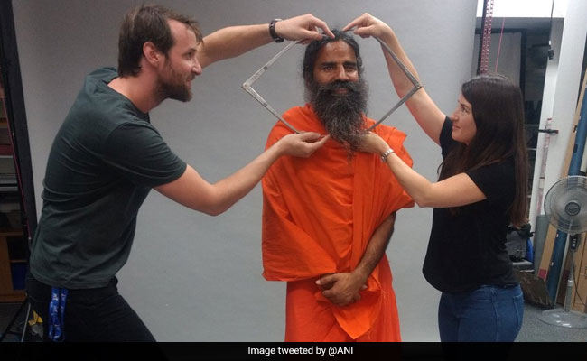 Baba Ramdev To Donate Saffron Robe, Shoes For Madame