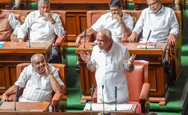 Yeddyurappa, Who Quit After 2 Days, Says Congress-JDS Won't Last Even 3 Months