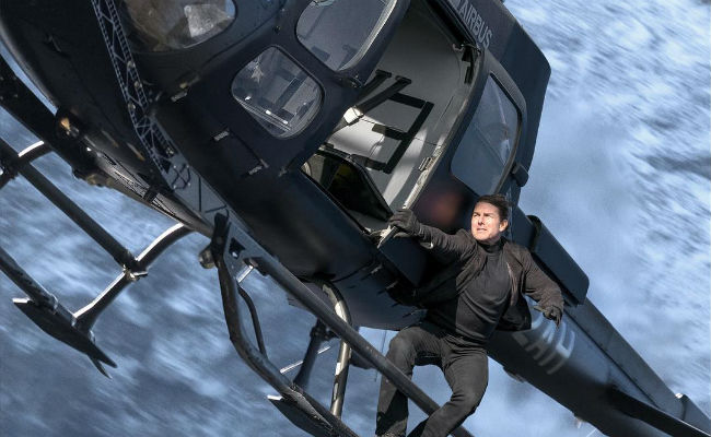 'Mission: Impossible - Fallout' fans hike to mountain cliff for screening in Norway