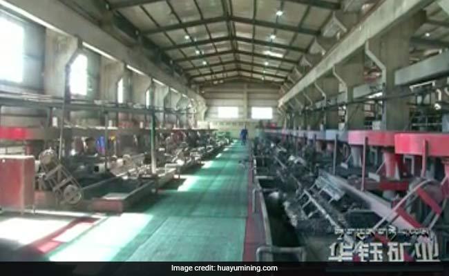 china gold mine lhunze