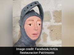 'Frightening' Restoration Of Historic Sculpture Sparks Outrage And Memes