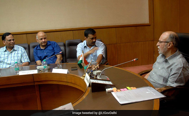 उपराज्यपाल अनिल बैजल से मिलेंगे दिल्ली के सीएम अरविंद केजरीवाल, बनेगी कुछ बात?
