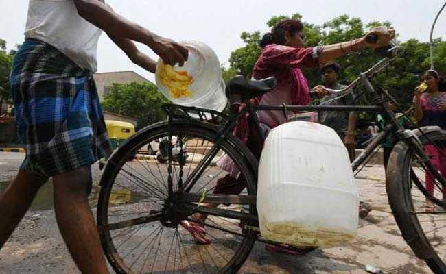 delhi water crisis afp
