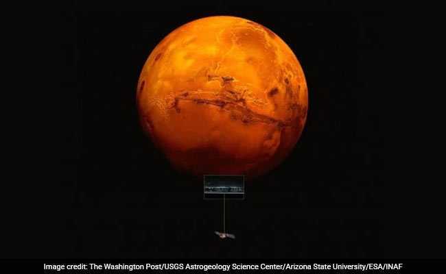 मंगल ग्रह पर मिला तरल पानी, NASA के वैज्ञानिकों ने की भूमिगत झील होने की बात