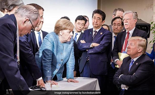 The G7 Summit, Summed Up In One Photo