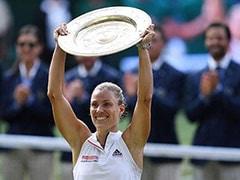 WIMBLEDON: सेरेना को हरा केर्बर ने जीता दूसरा ग्रैंड स्लैम खिताब