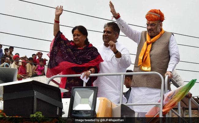 Amit Shah Flags Off 'Rajasthan Gaurav Yatra', Targets Congress