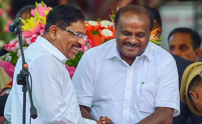 कर्नाटक के मुख्यमंत्री एचडी कुमारस्वामी ने विश्वासमत हासिल किया
