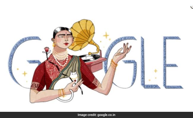 gauhar jaan google doodle