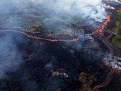 Lava From Hawaii's Kilauea Volcano Closes Highway