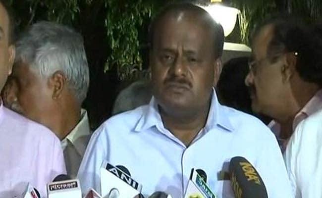 विभागों के बंटवारे के मुद्दे पर कांग्रेस नेताओं से मिले एचडी कुमारस्वामी, जानिये बैठक में क्या हुआ...
