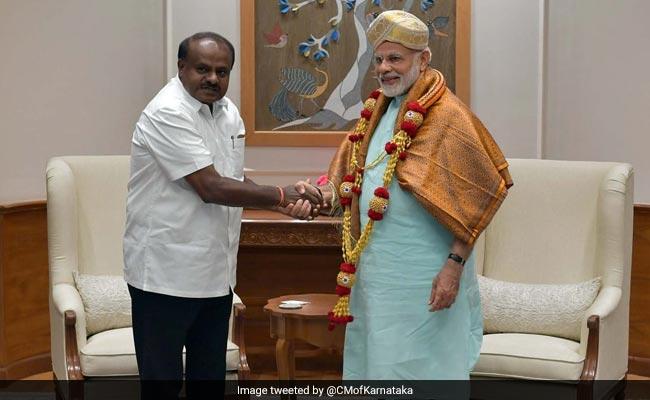 कांग्रेस के ATM के 'चीफ मैनेजर' हैं कर्नाटक के मुख्यमंत्री एच डी कुमारस्वामी: BJP