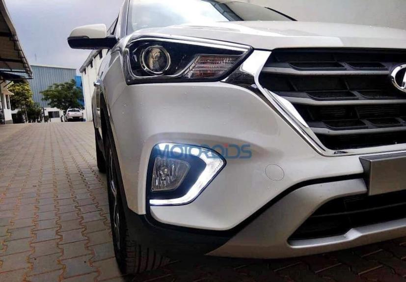 hyundai creta facelift headlamps
