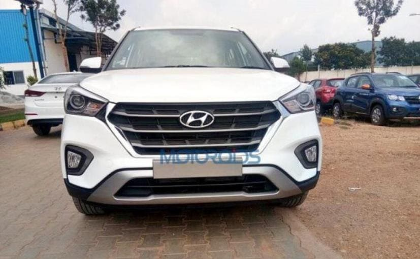 hyundai creta facelift spotted ahead of launch