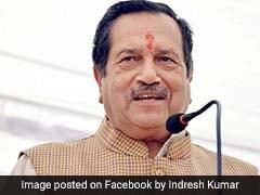 RSS नेता इंद्रेश कुमार बोले- लोग बीफ़ खाना छोड़ दें तो रुक सकती हैं मॉब लिंचिंग जैसी घटनाएं