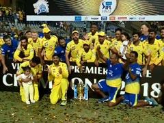 IPL 2018 : चेन्नई सुपर किंग्स के लिए लकी साबित हुआ यह नंबर