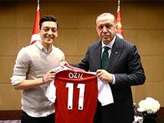 Recep Tayyip Erdogan Accused Of Using Mesut Ozil Saga To Push Turkey