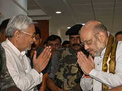 Nitish Kumar's Message To Amit Shah Over A Union Minister And His Antics