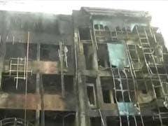 लखनऊ : चारबाग के दो होटलों में लगी आग, 6 की मौत