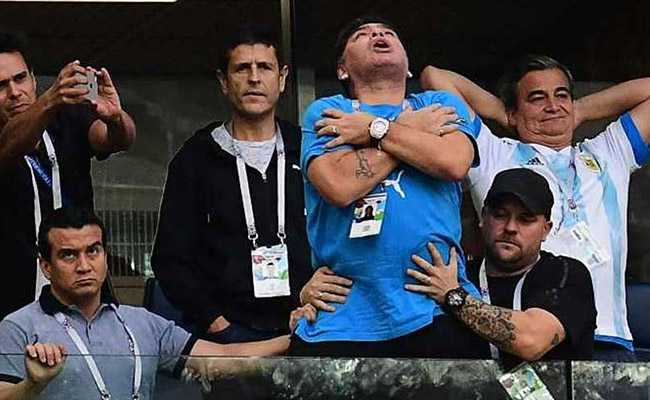 World Cup 2018: Argentines Caught Between Love And Indifference For Diego Maradona