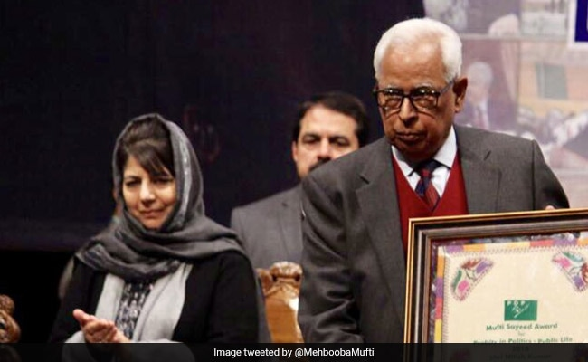 All-Party Meet With Jammu And Kashmir Governor NN Vohra Likely Today