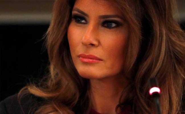 Trump Misspells Melania's Name In 'Welcome Home' Tweet, Jokes Follow