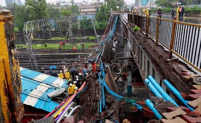 Railways Suffered Rs 90 Lakh Loss In Mumbai Bridge Collapse: Government