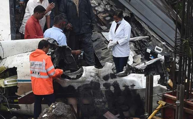 Five killed as private plane crashes in Mumbai suburb