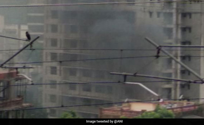 Plane crashes in busy district of Mumbai