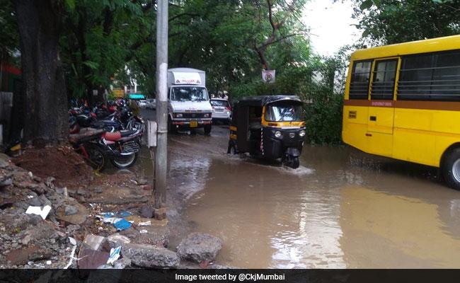Mumbai Rain Highlights: Heavy Rain Hits Mumbai, Waterlogging In Several Low-Lying Areas