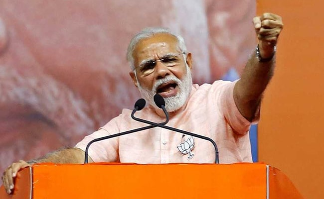 PM Modi Hits Out At Congress Over Dynastic Politics
