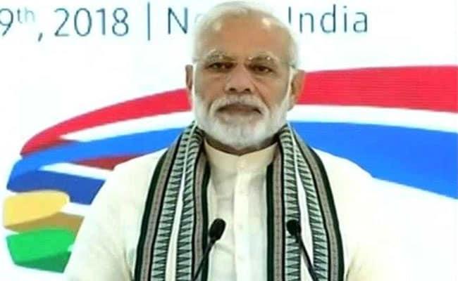 PM मोदी ने नोएडा में मोबाइल की सबसे बड़ी यूनिट का किया उद्घाटन, कहा - इस प्लांट से 'मेक इन इंडिया' को मिलेगी गति